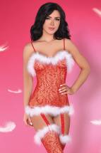 Топ и чулочки Catriona Christmas LivCo Corsetti Fashion