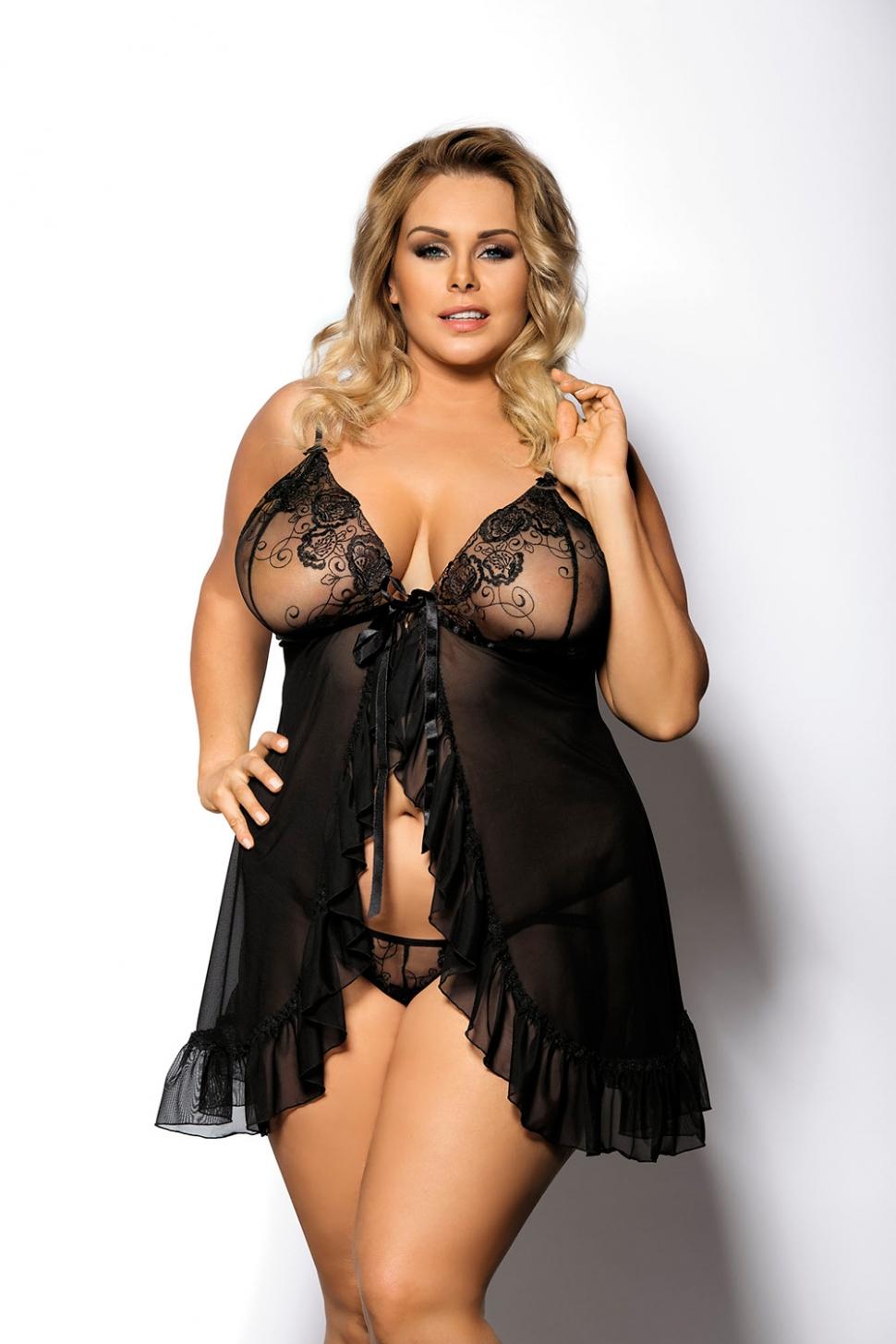 эротичное нижнее белье для толстых - 6