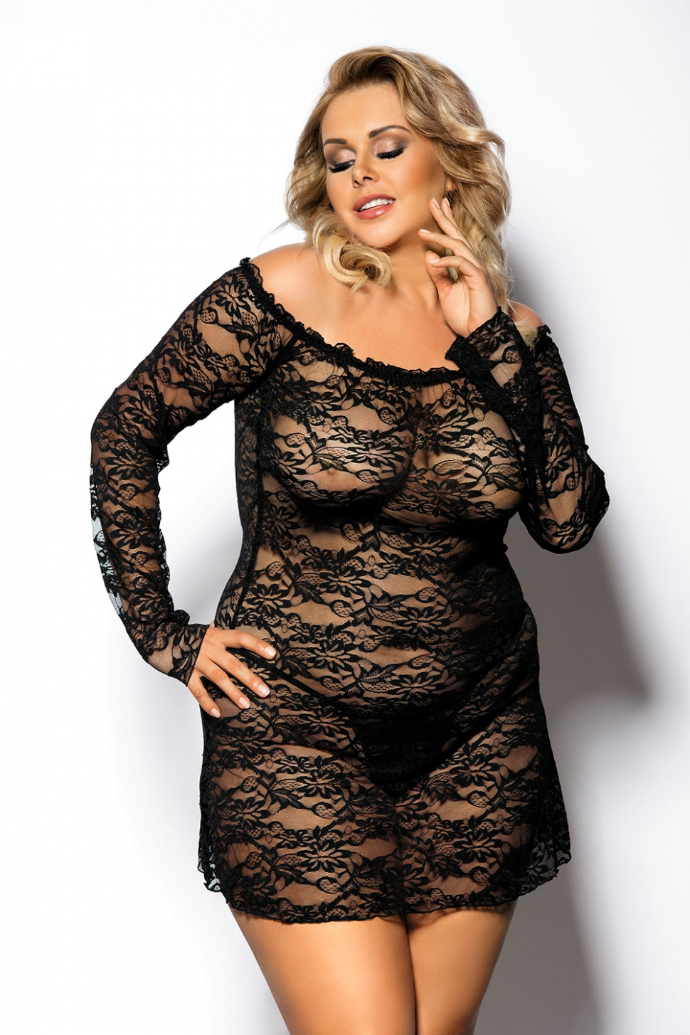 интимное белье для толстых женщин с большим бюстом островке